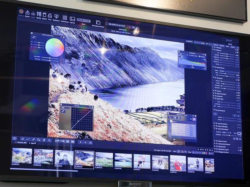 デザインなどを見直した純正画像処理ソフト「Phocus 3.0」(無償)も用意する