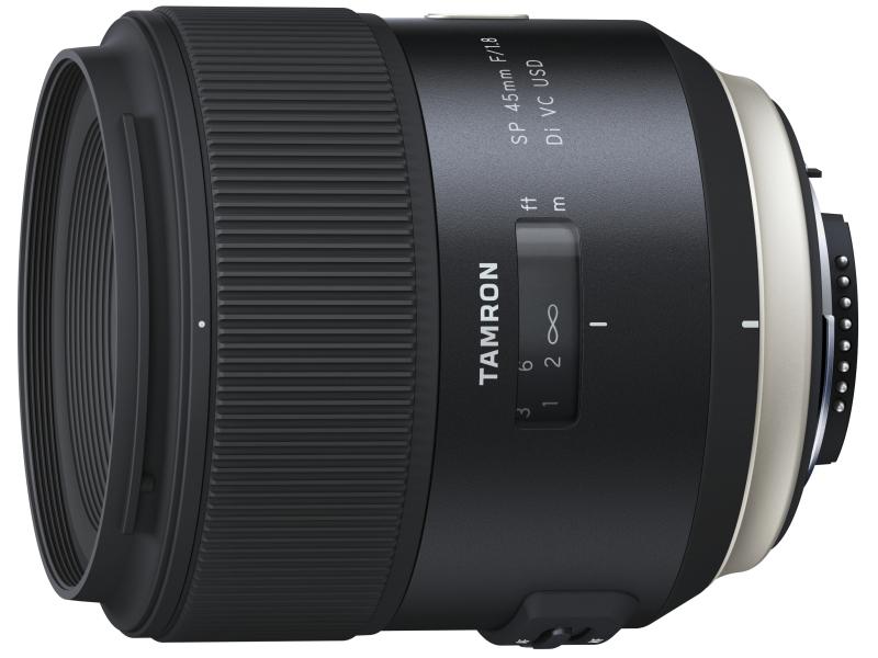 SP 45mm F/1.8 Di USD(写真はニコン用)