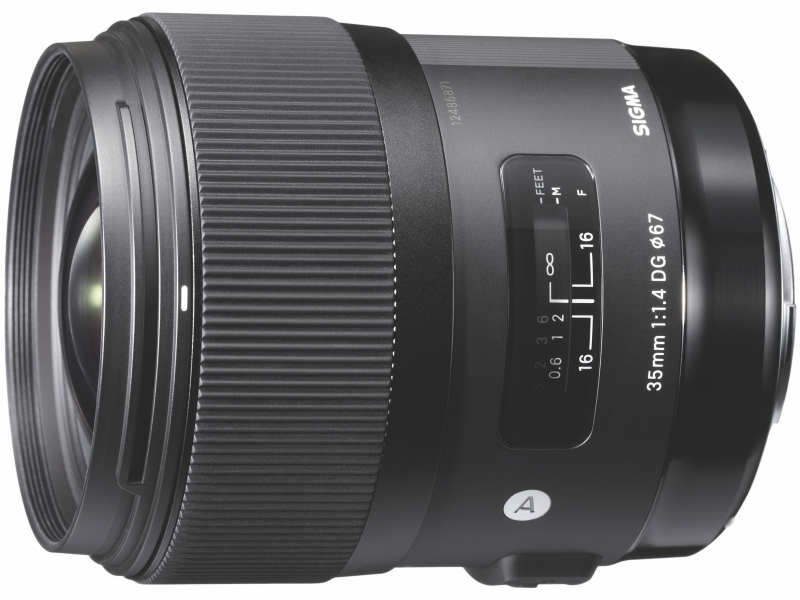 対象レンズのひとつ「35mm F1.4 DG HSM  Art」