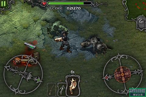 <b>グレネード</b> …… 小範囲の敵をまとめて攻撃できる。弾丸の再装填が若干遅いのが玉に瑕だ
