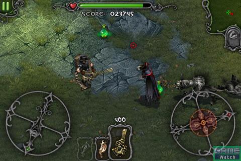 ドラキュラは電撃で攻撃してくる。クロスボウが弱点なので、武器を切り替えて攻撃しよう。倒すとアイテム「OMEN」が入手できる
