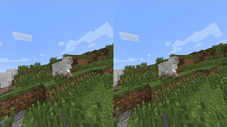 牛とか羊もでっかい。全力で走って逃げ回られると困るので、良い剣を使って一撃必殺