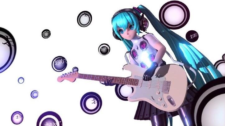 アーケード用「初音ミク Project DIVA Arcade Future Tone」