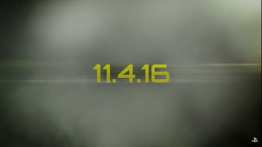発売は2016年11月4日に決定!