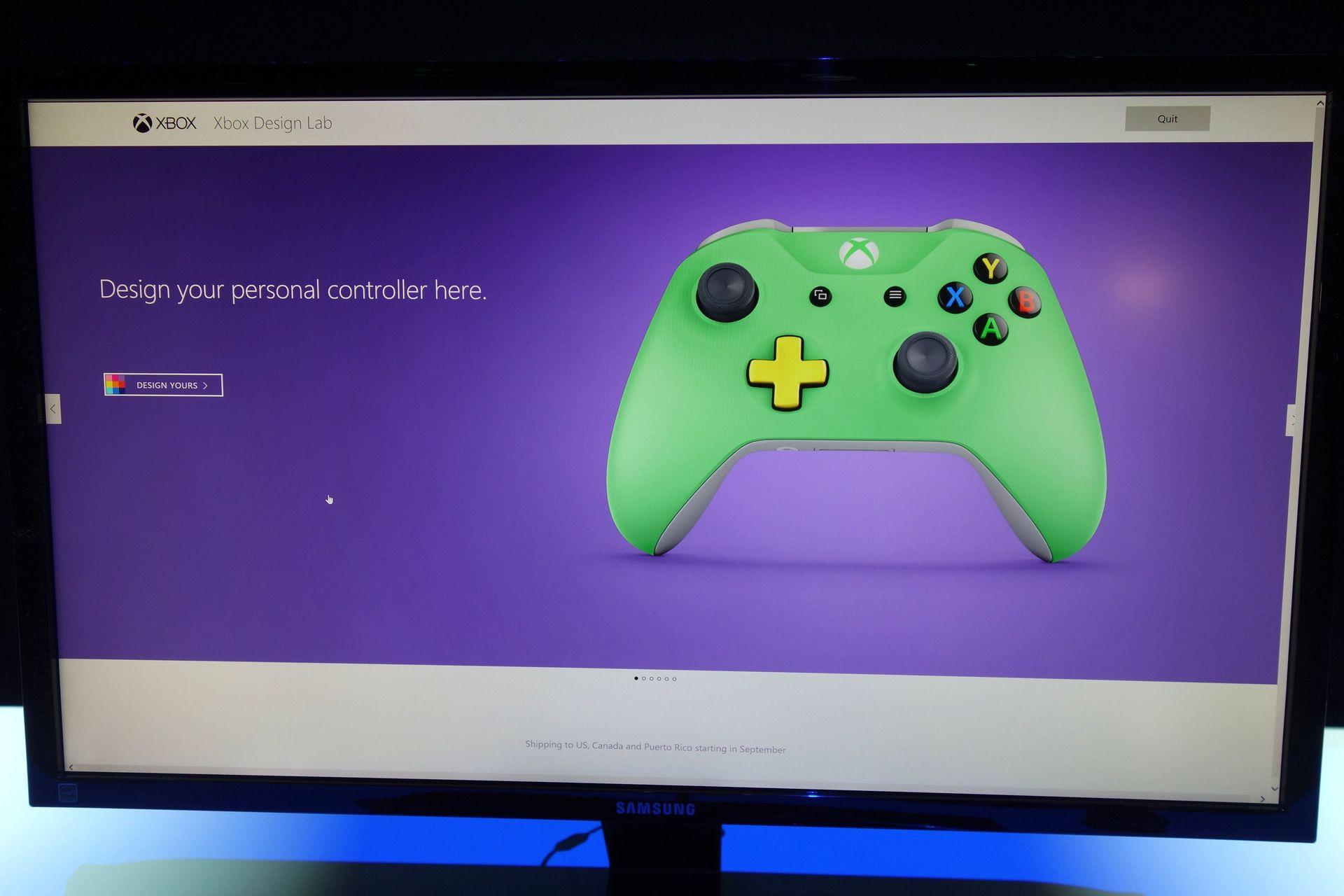 Xbox Design LabであなただけのNew Xbox Wireless Controllerがデザインできる