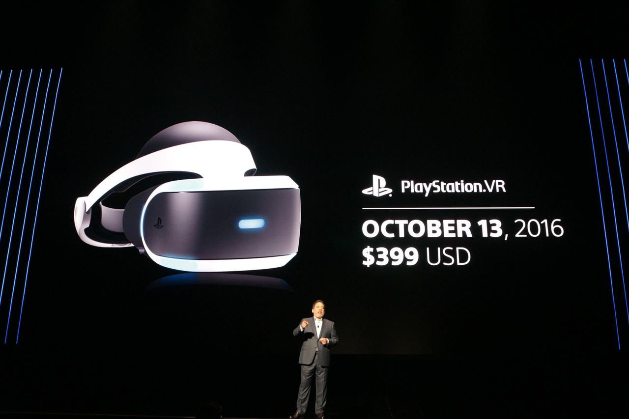 ついに発売日が確定したPlayStation VR