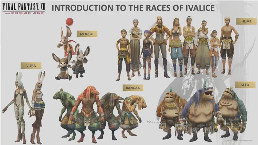 イヴァリースには人間以外の種族も暮らしている
