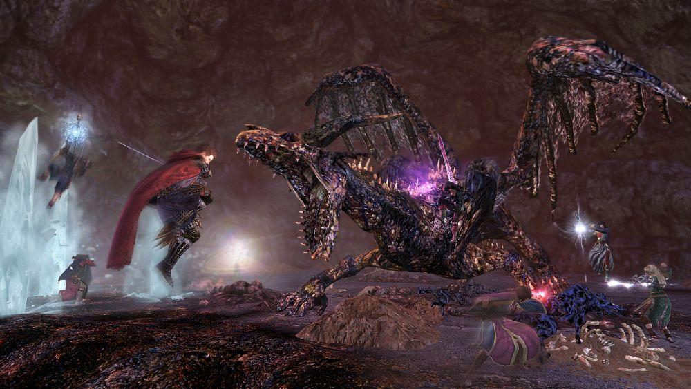 今こそ8人の力を結束し、カースドラゴンを討伐せよ!
