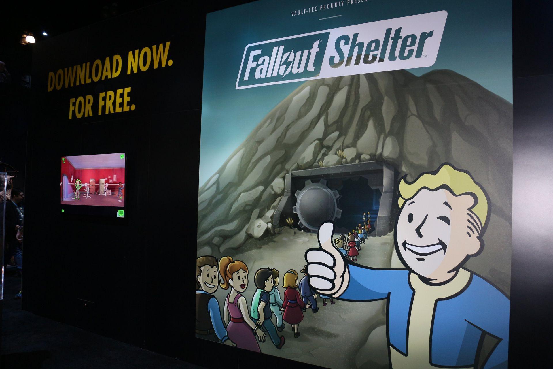 弟分の「Fallout Shelter」もアップデート継続中