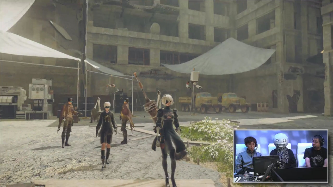 RPGの要素を感じられる場所ということでレジスタンスキャンプを紹介