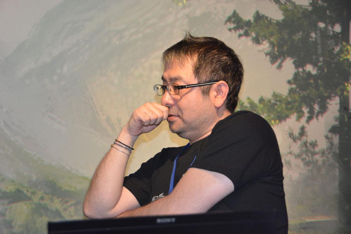 プロデューサーの齊藤陽介氏