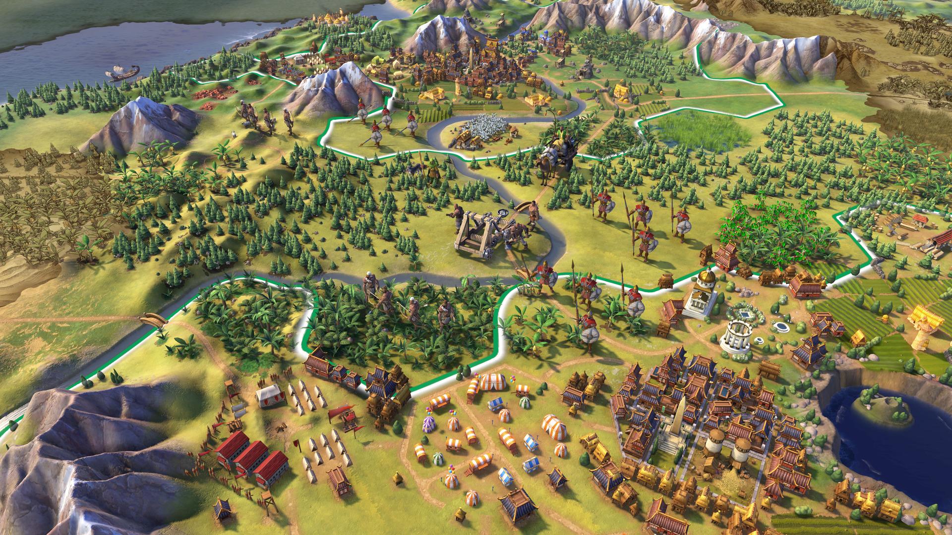 複数の都市を結ぶ交易路