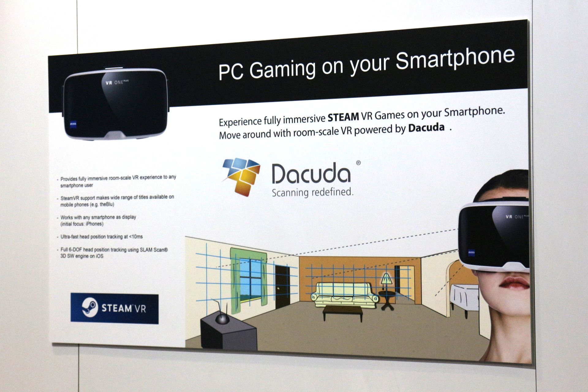 SteamVRをスマホで
