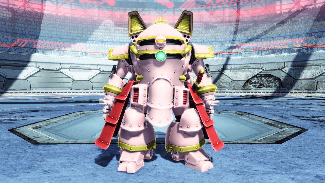 "<strong class=""em "">「光武二式(さくら機)」</strong>帝都東京を守る対降魔迎撃部隊「帝国華撃団」が運用する霊子甲冑。袴のような装甲スカートが特徴的"