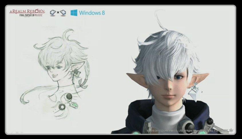 「新生FFXIV」から主要キャラクターとして登場するアルフィノ