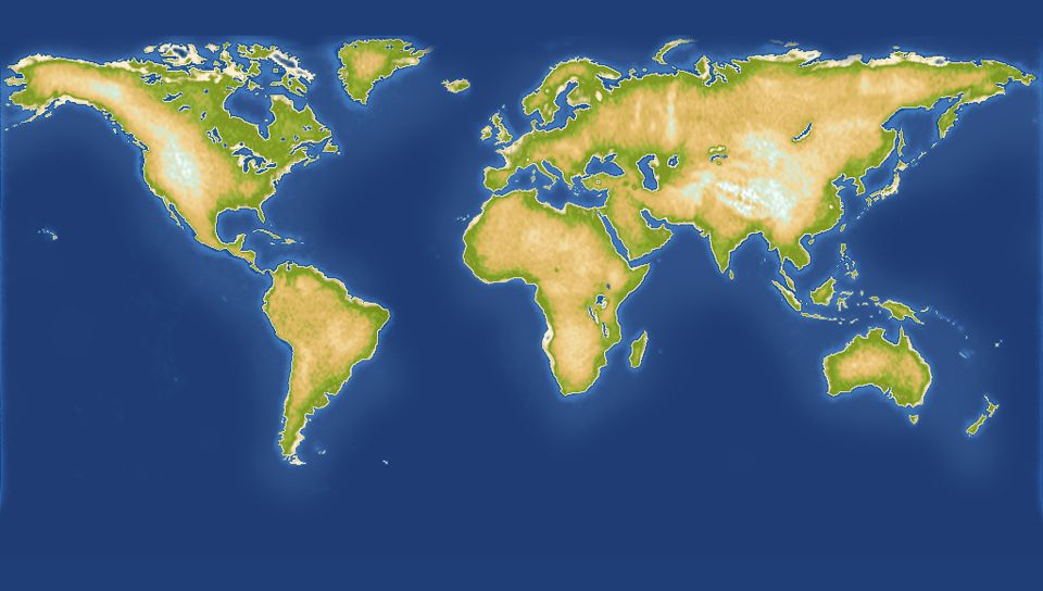 「信じる」or「信じない」で出来上がる地図が変化していく。ゲームの進行によっては我々の知る世界地図とは似ても似つかぬ物になる可能性も……