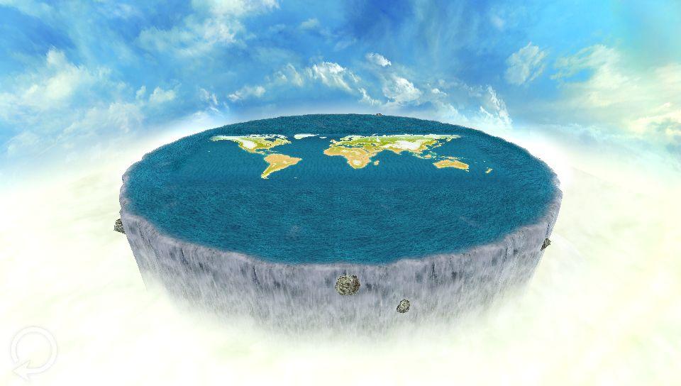 「真の世界は丸い姿をしているのか。それとも、世界の果ては滝が流れているのか」