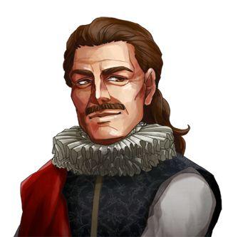 """<strong class=""""em """">ルイス・バルディ</strong> 元海賊で元宰相。水上の戦闘をもっとも得意として独自の情報網を持っている。気取り屋で無鉄砲な性格"""