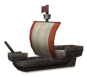 "<strong class=""em "">コッグ・トレッド</strong> 「貿易船」4角帆を利用した、古くから存在する小型の貿易船。安価で近距離貿易に向いている"