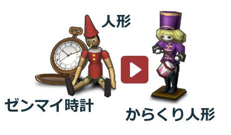 「ゼンマイ時計」から「からくり人形」