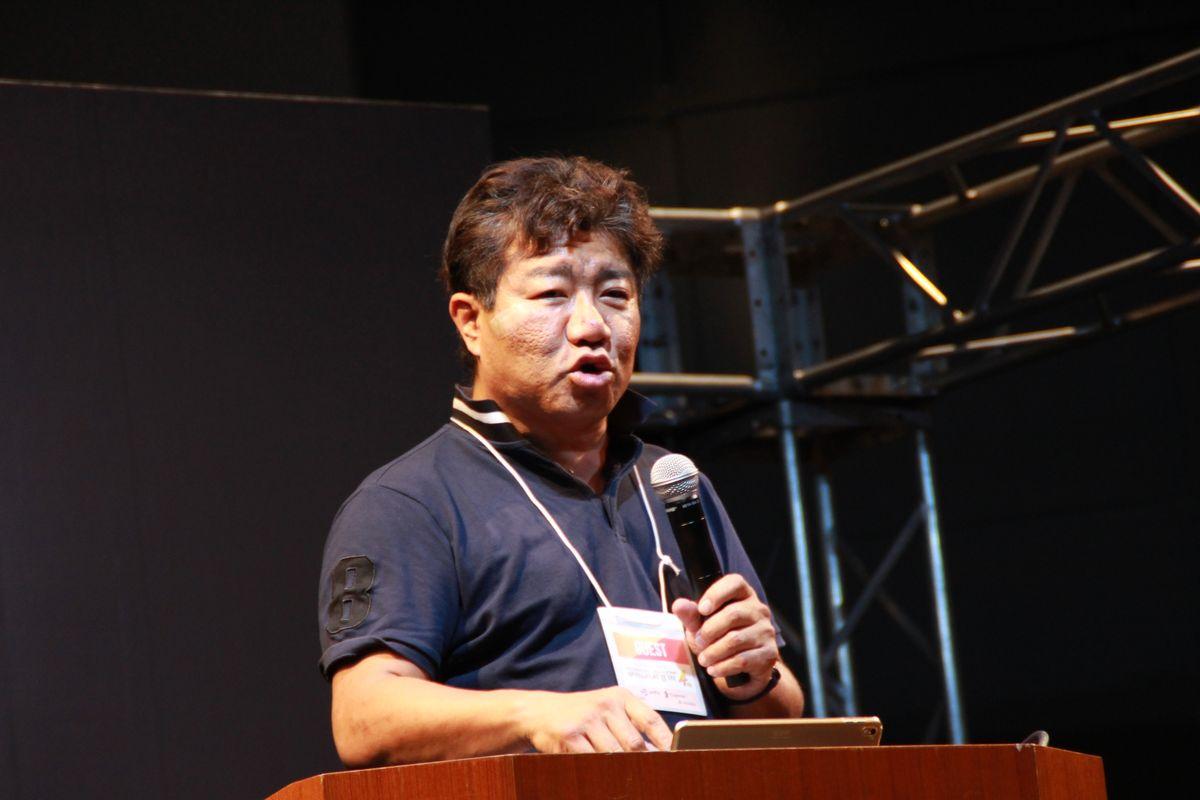 ビバリウムの斎藤由多加氏