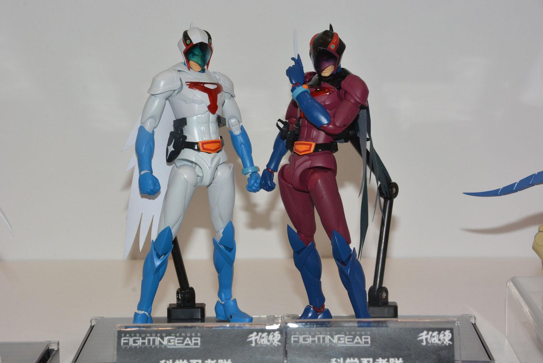 様々なヒーローを独特のアレンジで再現。可動範囲の広さも楽しい