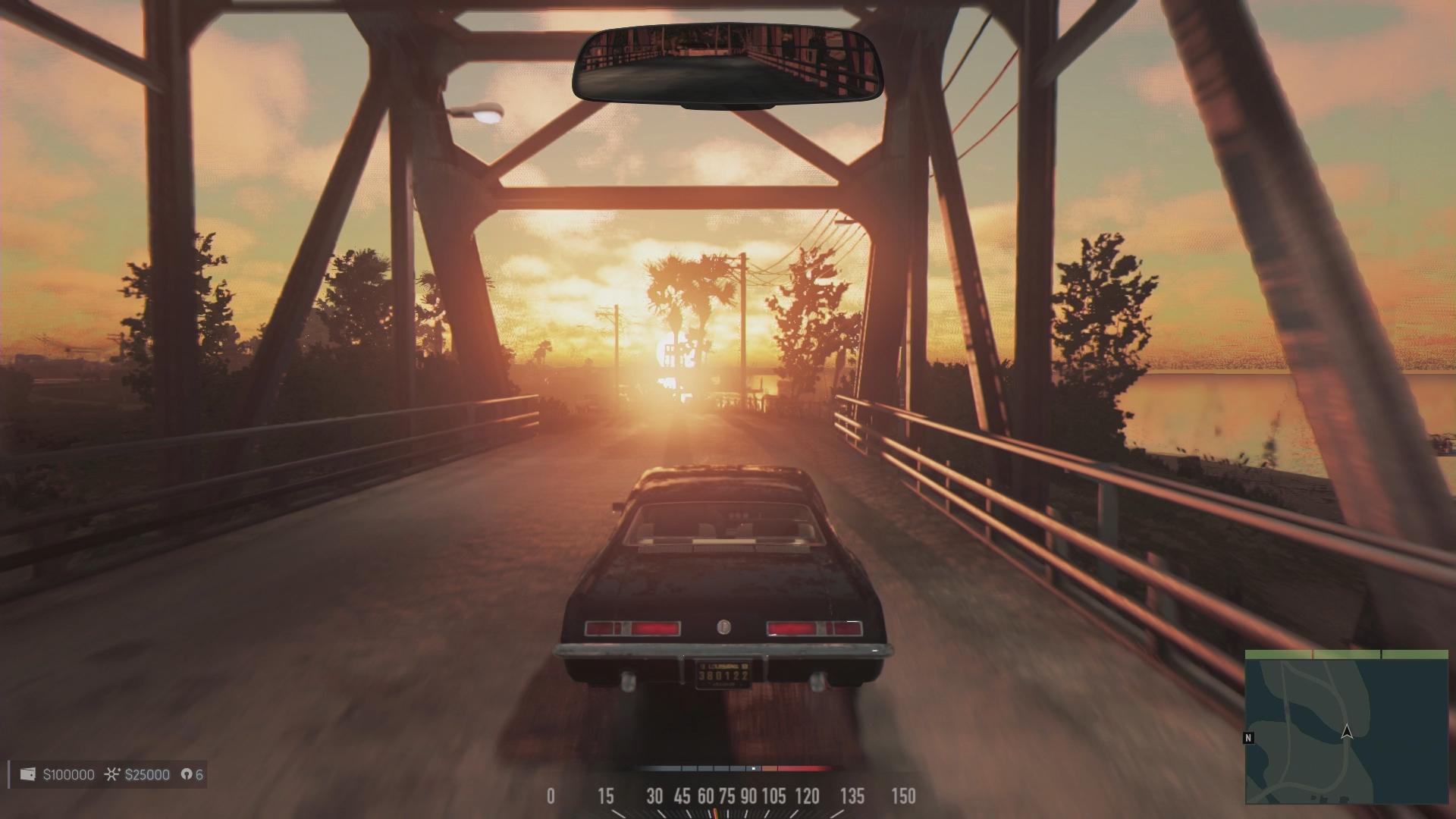 車で様々な場所を走る。ドライブもゲームの大きな楽しみだ