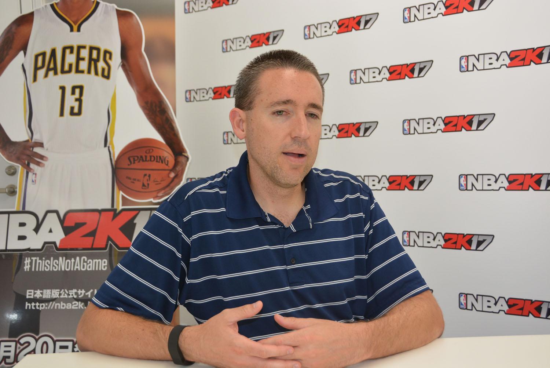 「NBA 2K17」シニアプロデューサー エリック・ベニッシュ氏