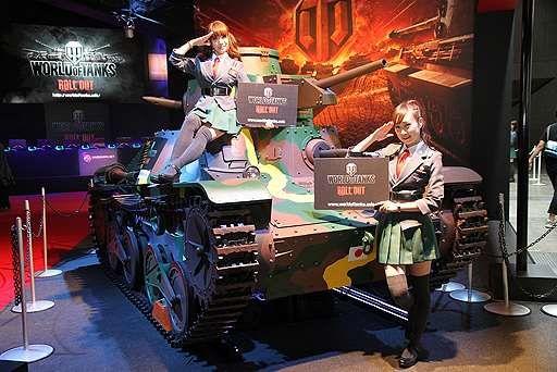 東京ゲームショウ 2013時のウォーゲーミングジャパンの展示