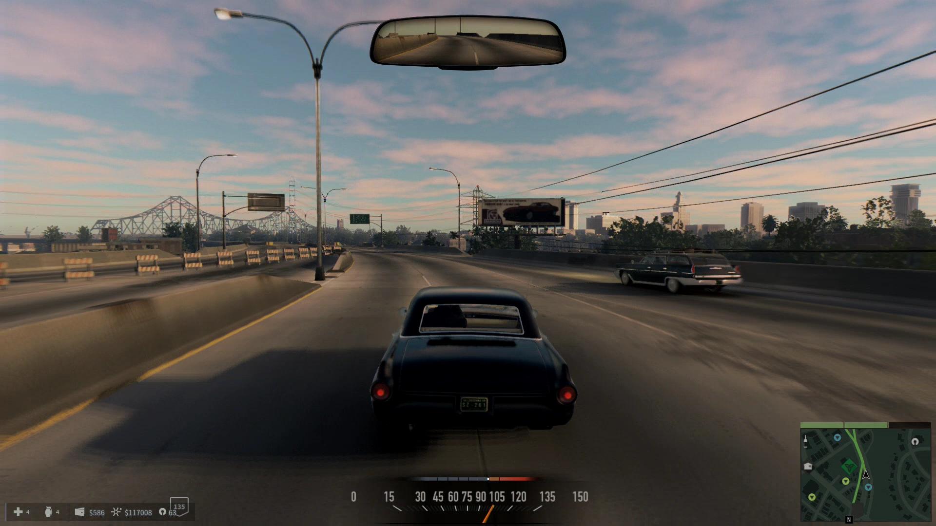 高速道路上は、手持ちの車の最高速度をチェックしたりする用途にも利用できるおススメのコースと言えるな