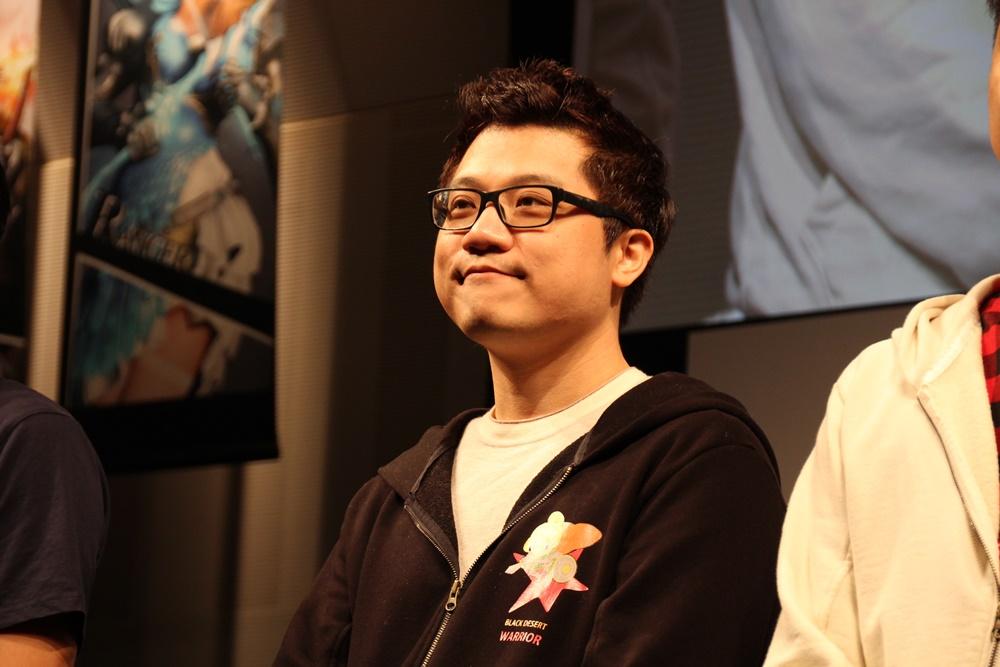 PearlAbyssキャラクターチーム長のオ・ユンテク氏
