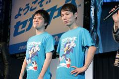 「深淵の渦」にチャレンジしたjojoさん(右)とぴよぴよさん(左)