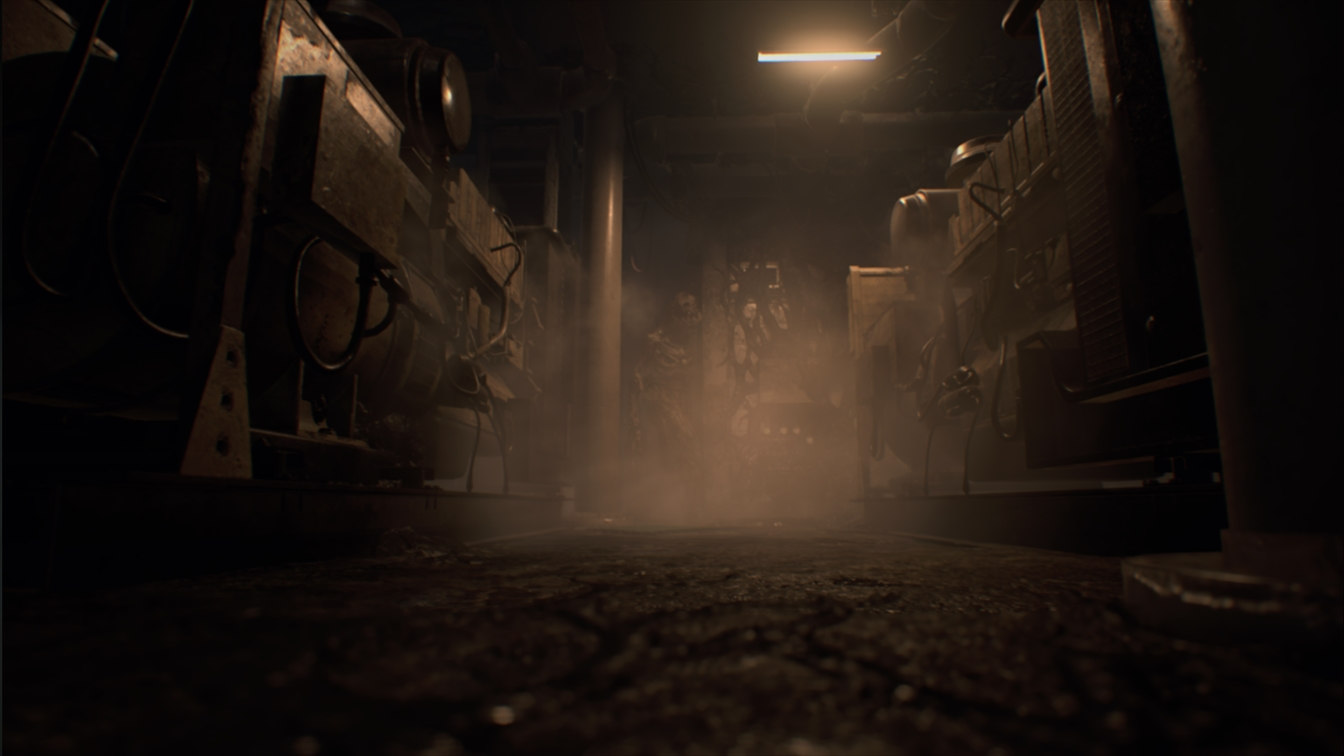 地下エンジンルーム