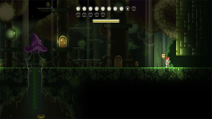 """<strong class=""""em """">ウファラの森</strong>:地上には深い森、地下には洞窟が広がっている。石像などが見られる、神秘的な世界"""