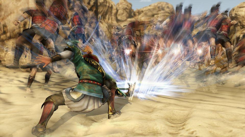 怪力を生かして武器を勢いよく地面に叩き付け、衝撃で敵を打ち上げる周倉