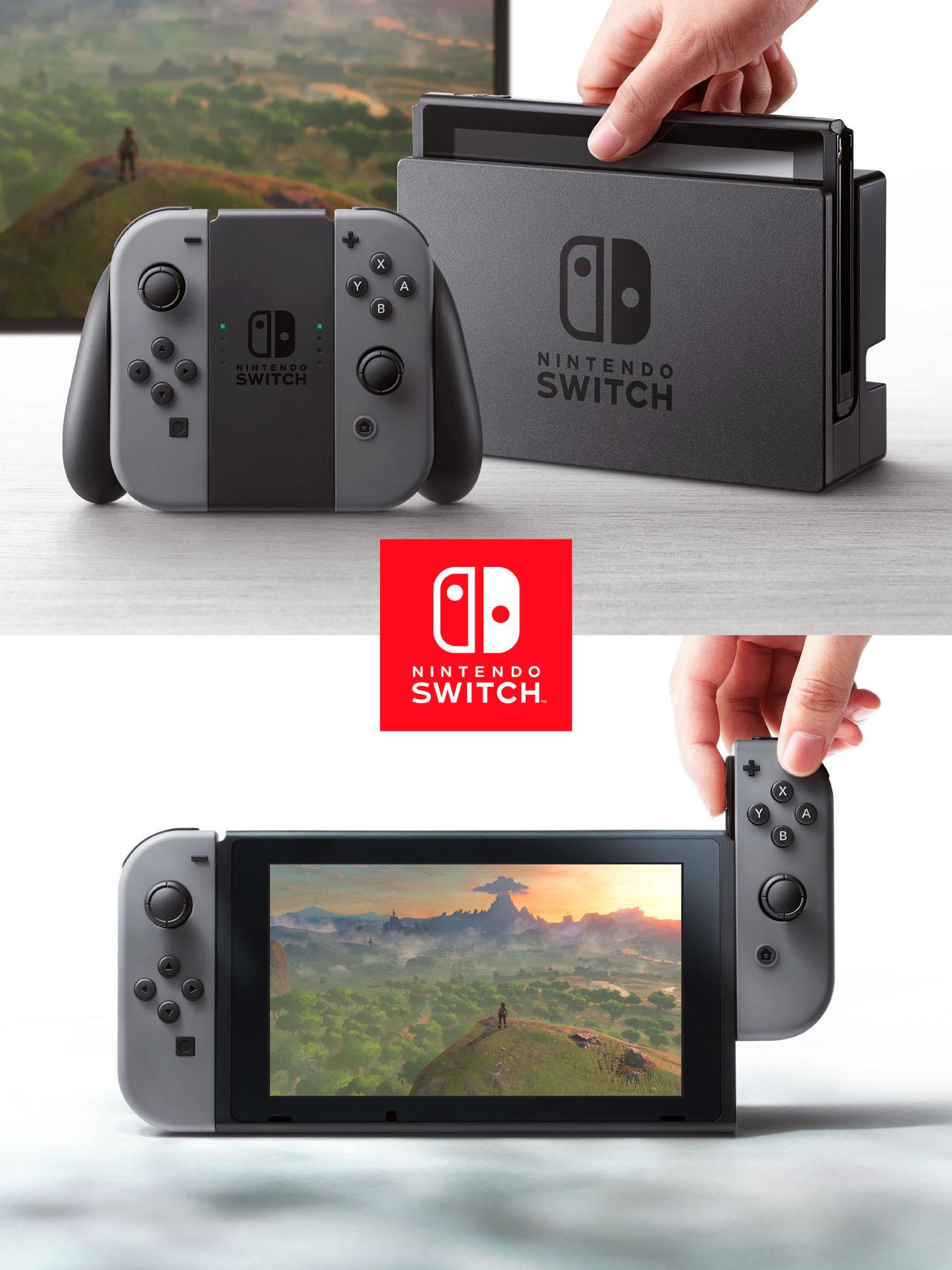 年明け早々には「Nintendo Switch プレゼンテーション 2017」と体験会が開催予定。スイッチがやってきます!