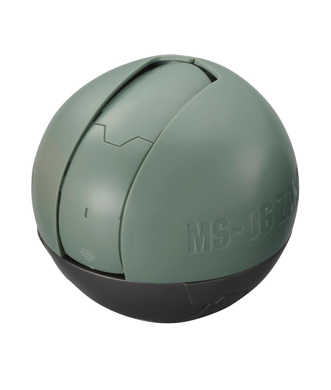 カプセル自販機からはこの形で出てくる。一部は保護用シェルに被われている