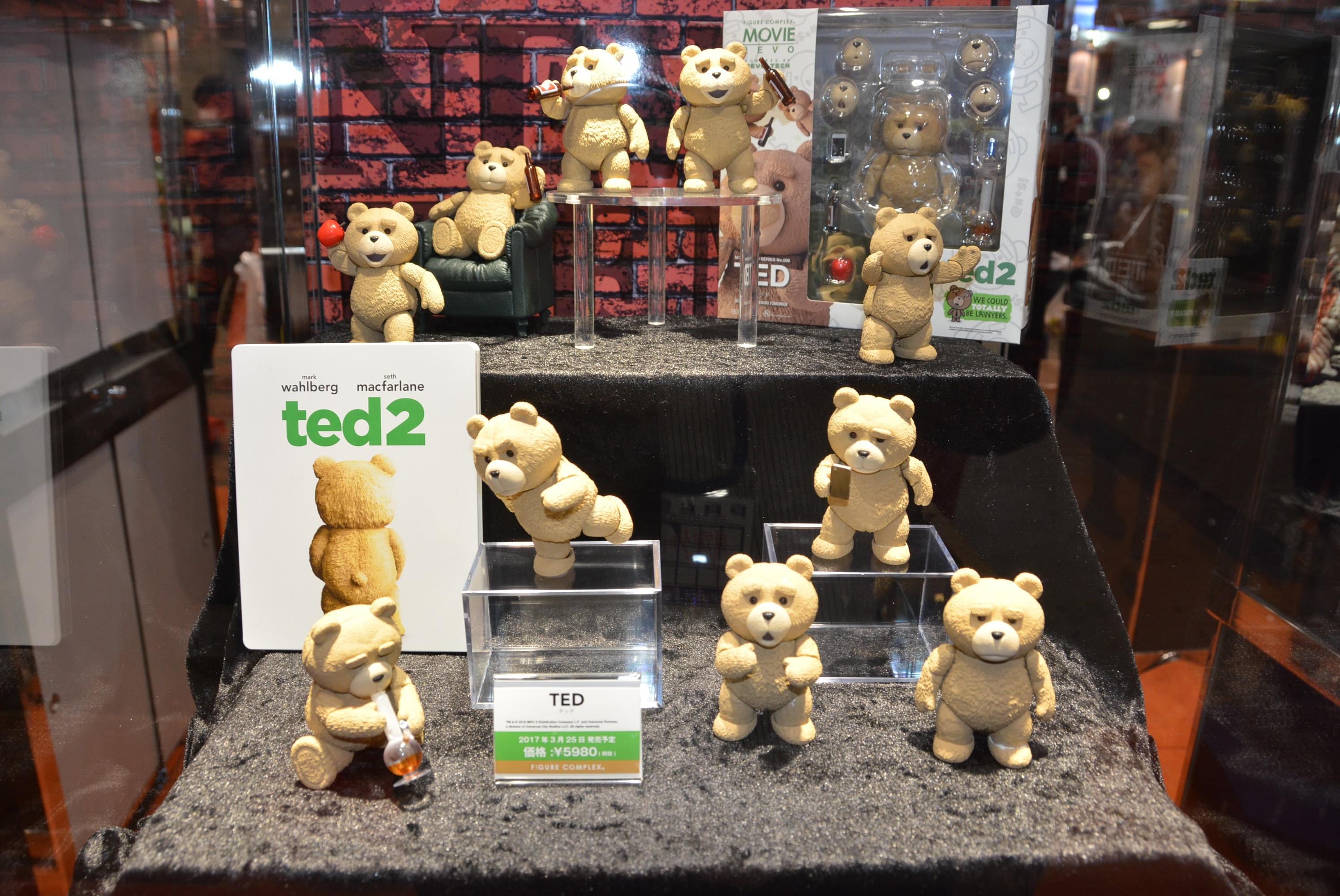 「TED」、3月25日発売予定、5,980円(税別)