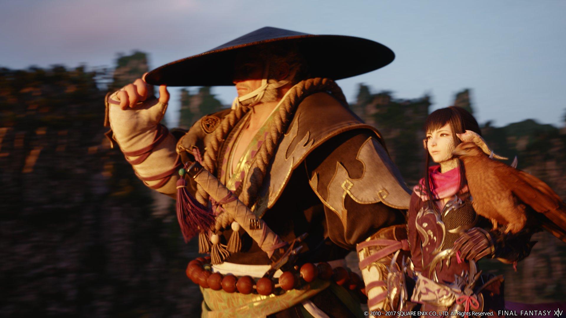 新キャラクターのゴウセツ(左)と、引き続き登場となるユウギリ