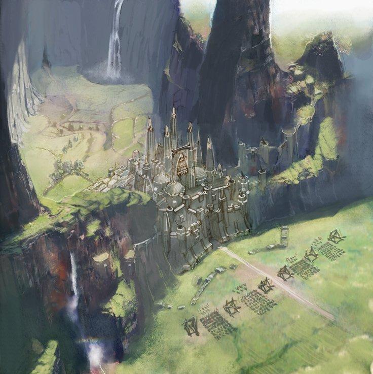 吉田氏がプロデューサーに就任直後に公開した大規模PvPの初期イメージ。これが4.xシリーズで導入されるようだ
