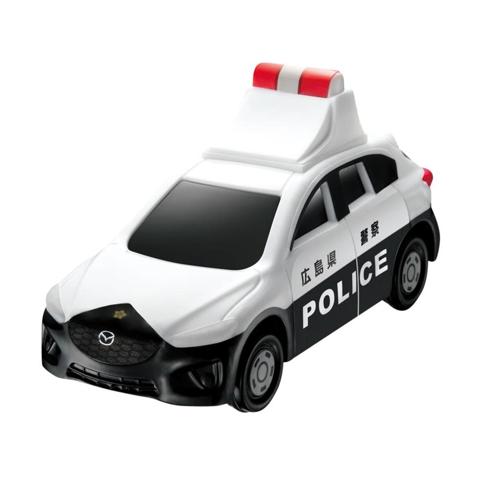 電光掲示板の文字が変わる「マツダ CX-5 パトロールカー」