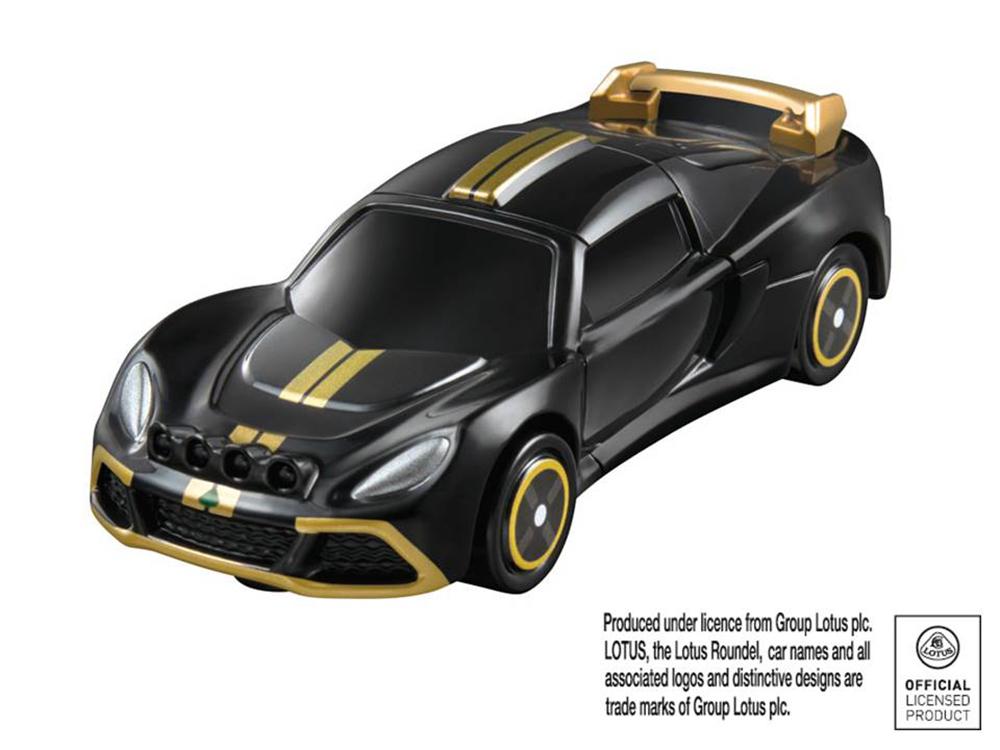 車体後部のエンジンルーフが開く「ロータス エキシージ R-GT」