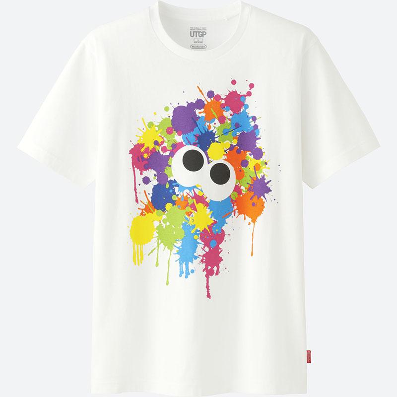 「マリオ」Tシャツの女性用は「ファイアマリオ」仕様