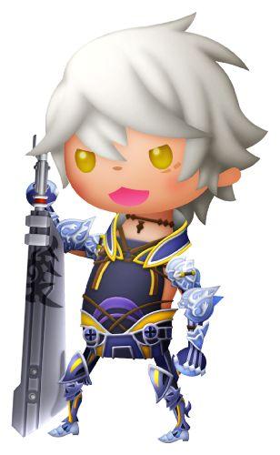 「メビウスFF」のキャラクター「ウォル」