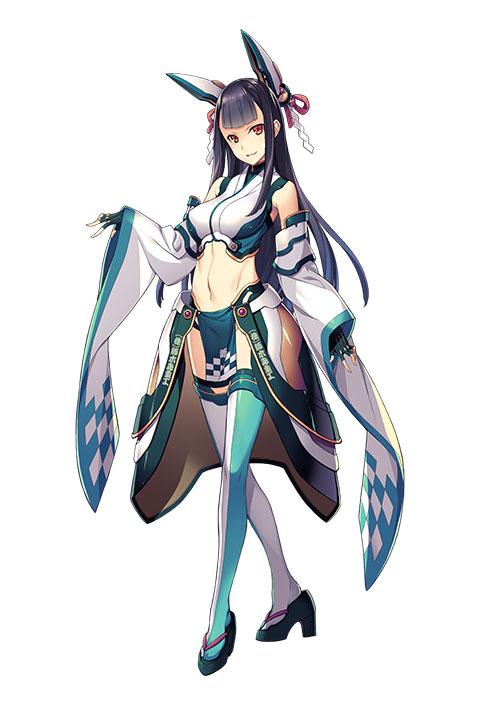 澄香(キャラクターボイス:米山明日美 キャラクターデザイン:菊池政治)