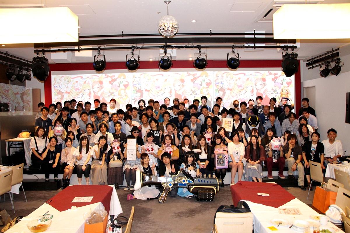 最後は参加者で集合写真を1枚。笑顔の数がイベントの盛り上がりを物語る