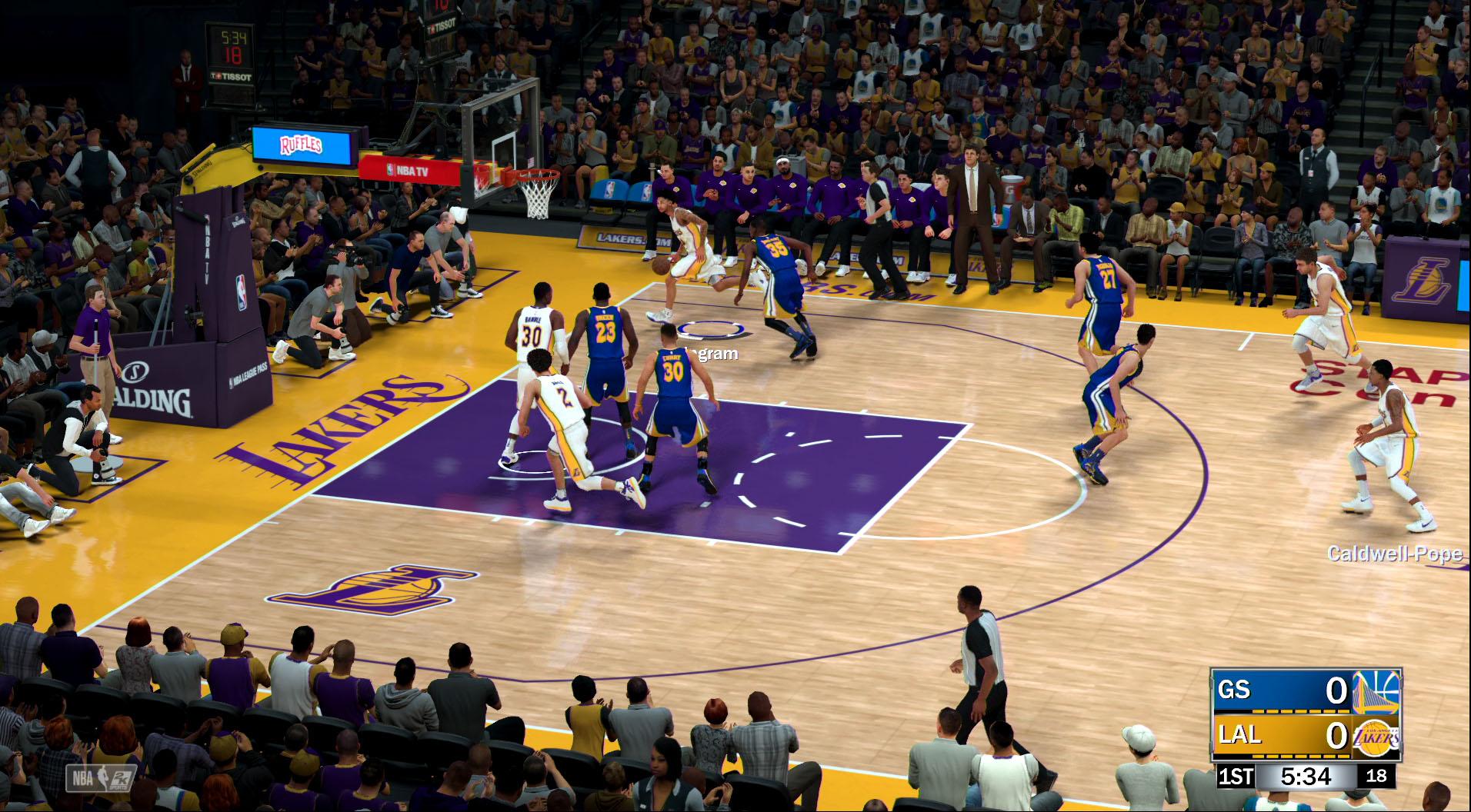 リアルなグラフィックス、進化したモデリング……NBAファンを満足させるハイクオリティだ