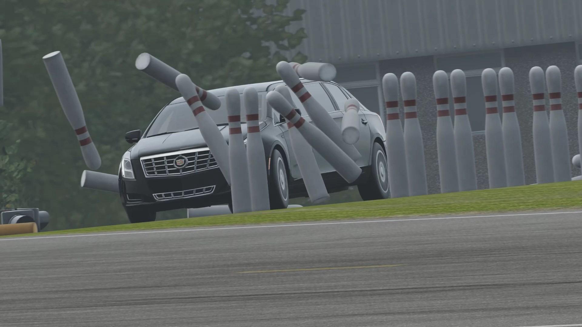 車番組「TOP GEAR」由来のカーボーリング。たくさんのピンを倒すにはスピンを完全に制御する必要もあり、意外と奥が深い