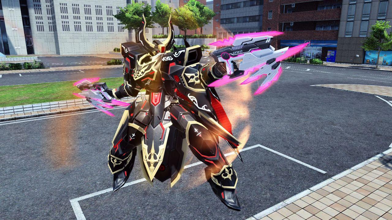 次元を越えるほどの力を秘めた双機銃。鮮烈な輝きを放つ弾丸は、全てを貫き確実に対象を葬り去る