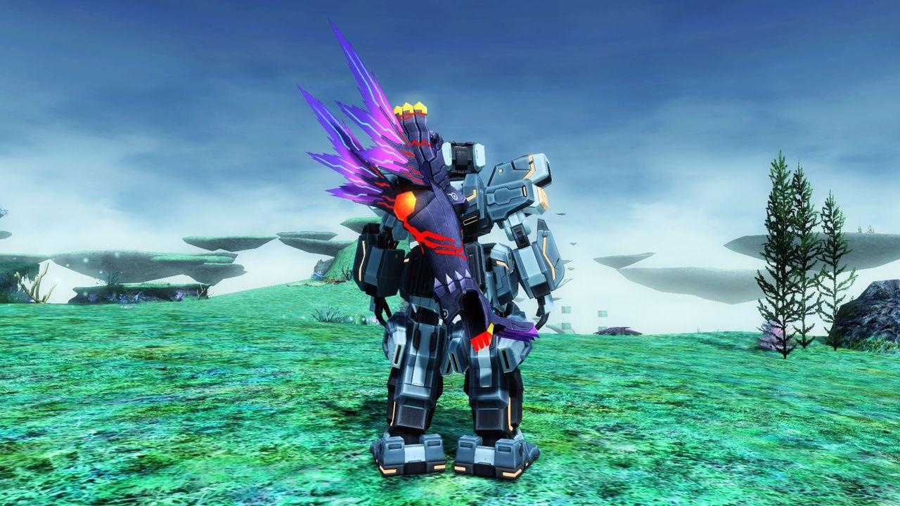 ダーカー因子によって変貌を遂げた大砲。心の内にある闘争心に呼応し標的を徹底的に殲滅する。
